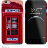 Personalised Phone Cover - Telephone Box - Phone Gifts