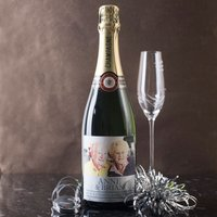 Personalised Luxury Champagne - 60th Anniversary