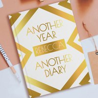 Personalised Diary - Another Year, Another Diary - Diary Gifts