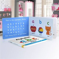 Personalised First Steps Alphabet Board Book For Toddlers - Toddler Gifts