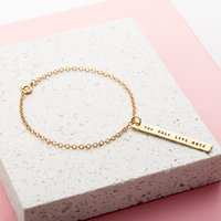Personalised Posh Totty Designs Bar Bracelet - Posh Gifts