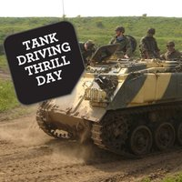 Tank Driving Thrill Experience Day - Thrill Gifts