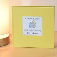 Personalised Peter Rabbit's Little Book Of Harmony