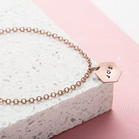Personalised Posh Totty Designs Hexagon Bracelet - Posh Gifts