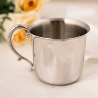 Personalised Stainless Steel Baby Cup