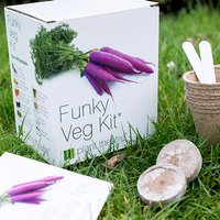 Grow Your Own Funky Veg Kit - Grow Your Own Gifts