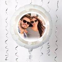 Photo Upload Large Helium Balloon - Twinkle Border