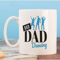 Personalised Mug - Bad Dad Dancing - Dancing Gifts