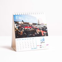 Personalised Small Calendar - Business - Business Gifts