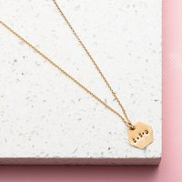 Personalised Posh Totty Designs Hexagon Necklace - Posh Gifts