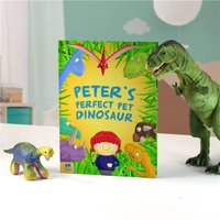 Personalised Children's Book - Pet Dinosaur - Book Gifts