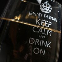 Personalised Wine Glass - Keep Calm And Drink On - Glass Gifts