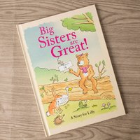 Personalised Book - Big Sisters Are Great - Books Gifts