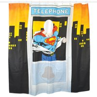 Superman Shower Curtain - Superman Gifts