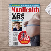 Photo Upload Notebook - Man Health - Health Gifts