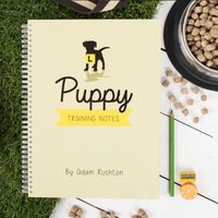 Personalised Notebook - Puppy Training Notes - Puppy Gifts