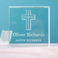 Personalised Glass Token - Easter Blessings