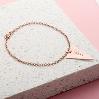Personalised Posh Totty Designs Triangle Bracelet - Posh Gifts