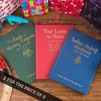 Personalised Hardback Children's Books - Classic Christmas Collection - Books Gifts