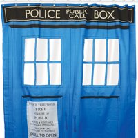 Dr Who Shower Curtain - Dr Who Gifts