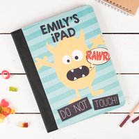 Personalised iPad Case - Monster