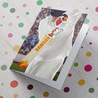 Personalised Card - Cricket Batsman - Cricket Gifts
