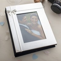 Engraved Photo Album with Crystal Ribbon - Photo Album Gifts
