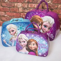Disney Frozen Set of 3 Train Cases