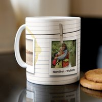 Photo Upload Mug - 3 Photos & Message - Photos Gifts