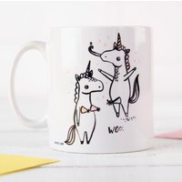 Personalised Mug - Banter Pants, Unicorns, Dance like Nobody's Watching - Dance Gifts