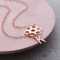 Personalised Posh Totty Designs Honeycomb Necklace - Posh Gifts