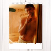 Personalised Hot Hunks Calendar - 1st Edition - Men Gifts