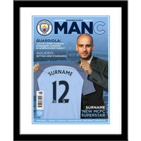 Personalised Manchester City Magazine Cover - Manchester City Gifts