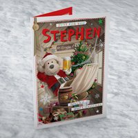 Personalised Card - Beer In The Grotto - Beer Gifts