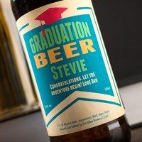 Personalised Beer - Graduation Mortarboard - Graduation Gifts