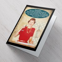 Personalised Card - Keeping Track Of Drinking - Track Gifts