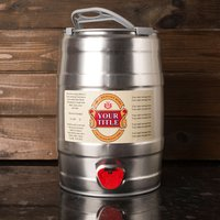 Personalised Keg of Beer 5L - Beer Gifts