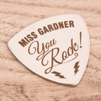 Engraved Guitar Plectrum - You Rock - Music Gifts