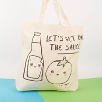 Personalised Banter Pants Tote Bag - The Sauce - Underwear Gifts