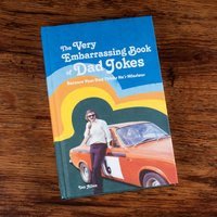 The Very Embarrassing Book of Dad Jokes - Book Gifts
