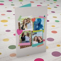 Photo Upload Card - Four Photos - Photos Gifts