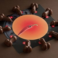Chocolate Chilli Willie Roulette - Chilli Gifts