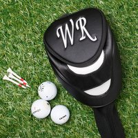 Personalised Golf Head Cover - Golf Gifts