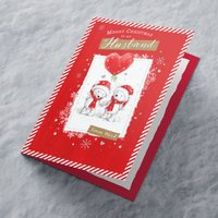 Personalised Christmas Card - Merry Christmas To My Husband - Husband Gifts