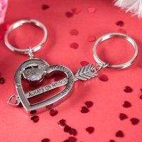Me To You - Two Part Key Ring, Bear Heart - Key Ring Gifts