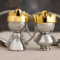Personalised King and Queen Key Ring Set - Key Ring Gifts