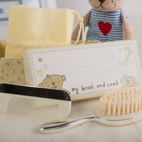 Personalised Baby Brush and Comb Set