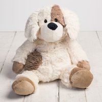 Cosy Plush Microwavable Soft Toy- Puppy - Puppy Gifts