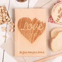 Personalised Romeo & Julienne Chopping Board - Love Food - Chopping Board Gifts
