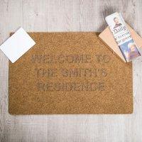 Personalised Outdoor Doormat - Outdoor Gifts